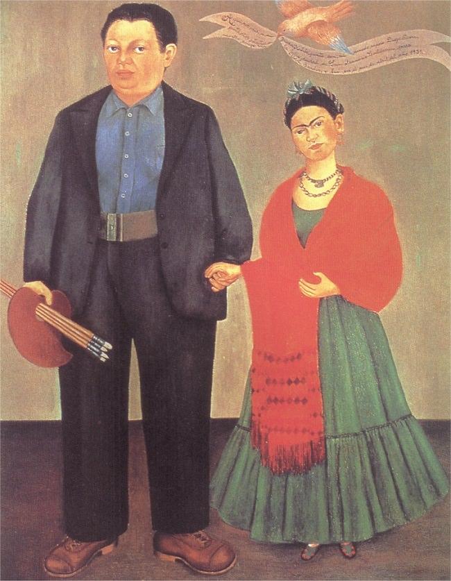 """Frida And Diego Rivera,"" 1931"