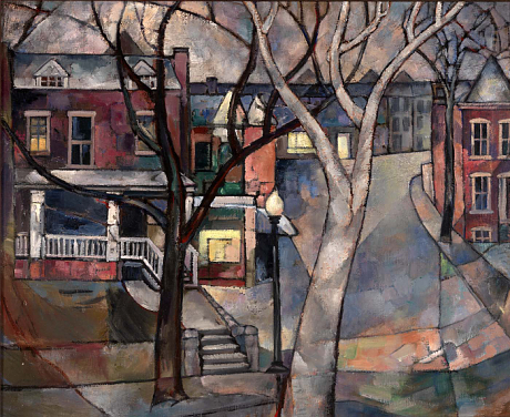 """Third And Rhode Island,"" c. 1935, Washington, DC"
