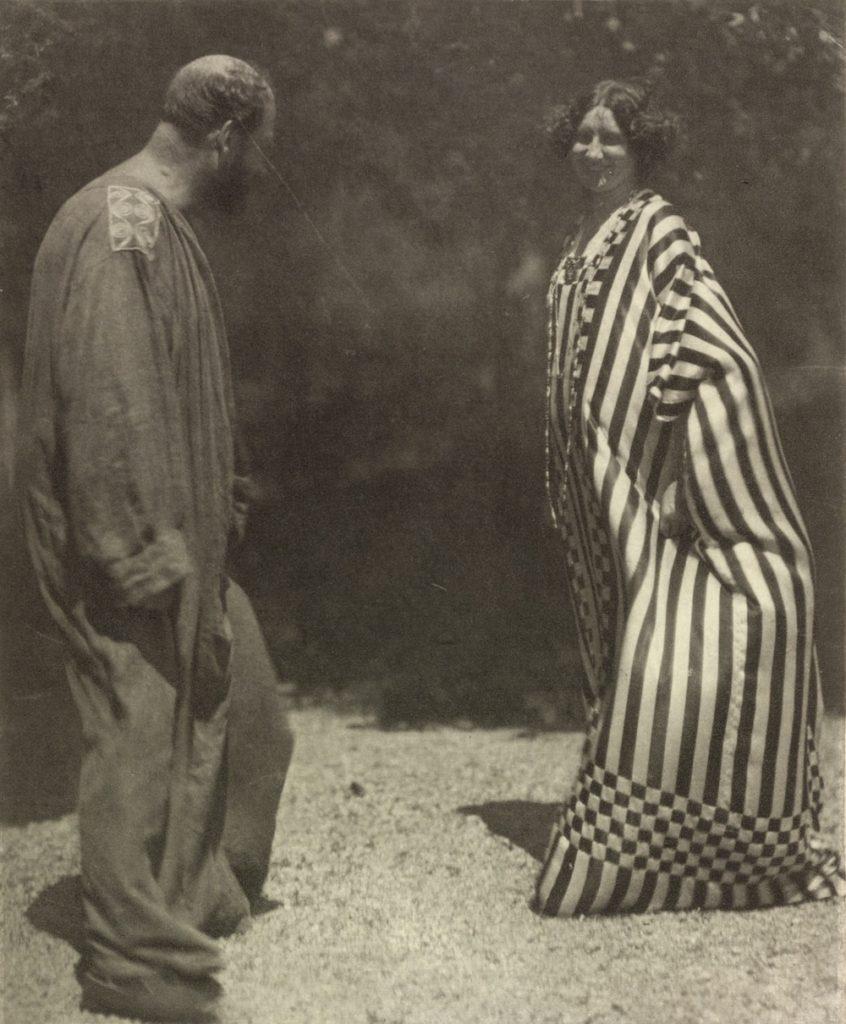 Klimt and Emilie Floge, c. 1910