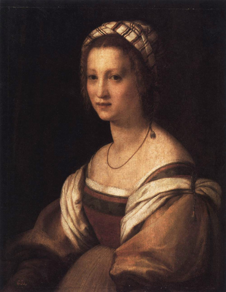 Lucrezia del Fede, the artist's wife