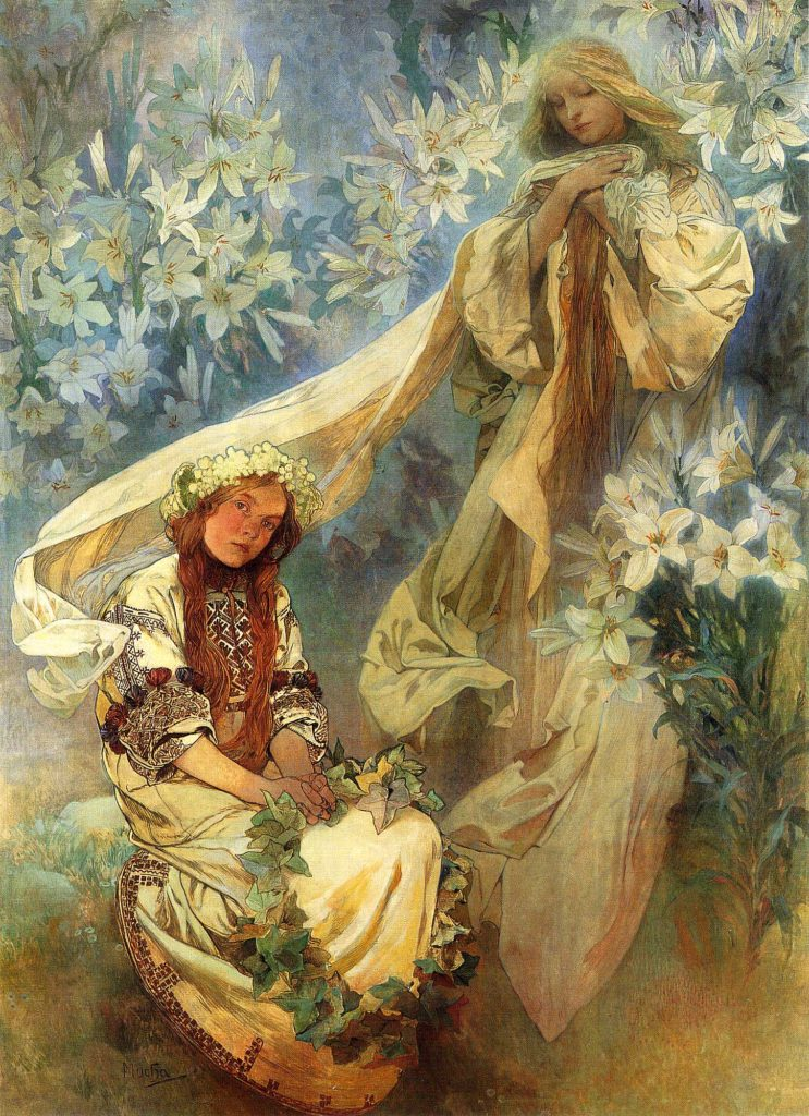 """Madonna Of The Lillies,"" 1905"