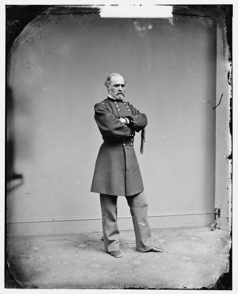 Montgomery C. Meigs, engineer of the Capitol Building, in Washington, DC