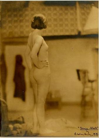 Berenice Abbott, 1919, photographed by Nickolas Muray