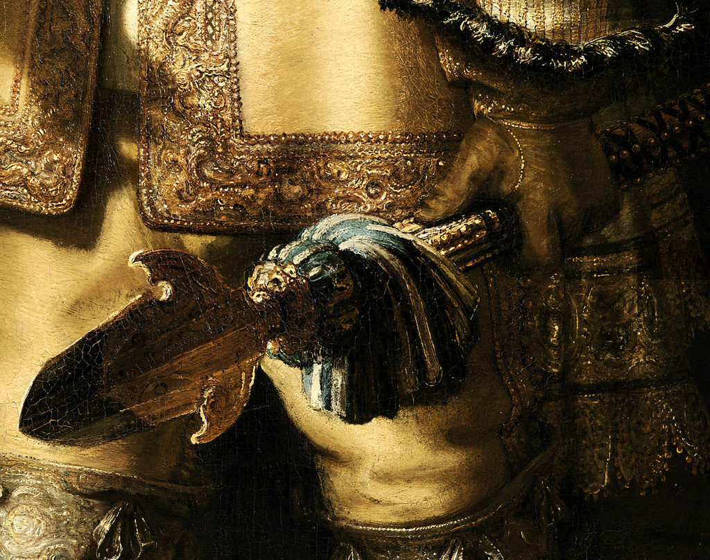 "Detail from ""The Night Watch"""