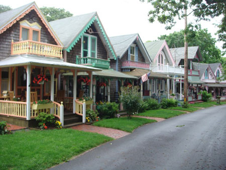 The Oak Bluffs area of Martha's Vineyard, MA, continues today to be a haven for creative outlet