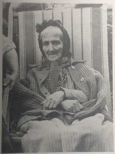 Photograph of Anna Klimt, Gustav's mother, taken in 1906