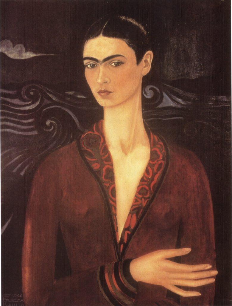 Frida's first self portrait, 19