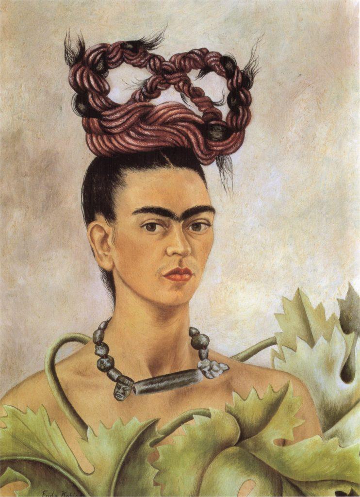 """Self Portrait With Braid,"" 1941"