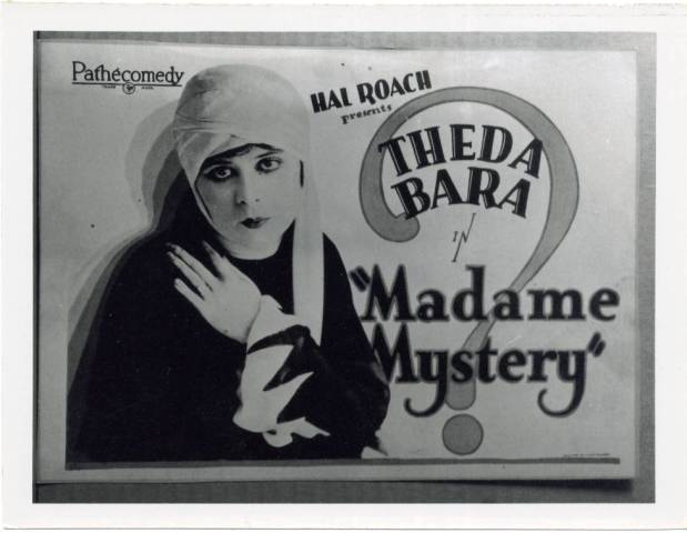 "Poster for ""Madame Mystery,"" 19"