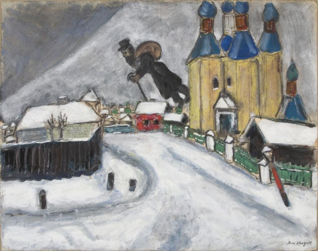 """""""Over Vitebsk,"""" 1914"""