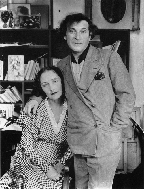 Virginia McNeil and Marc Chagall