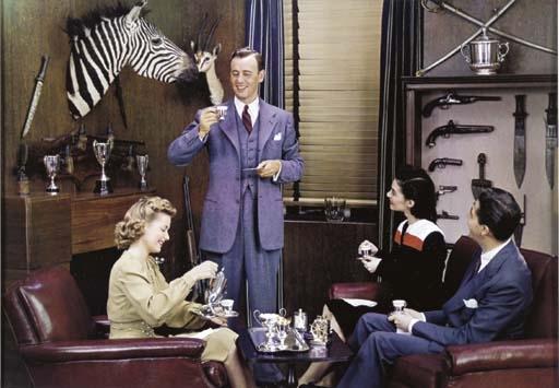 Advertising photo, c. 1950