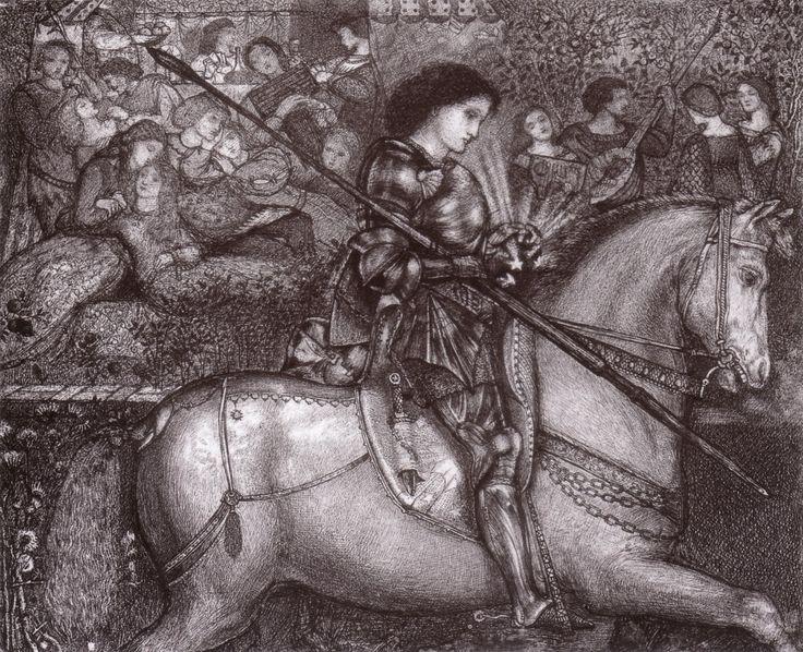 """Sir Galahad,"" 1855"