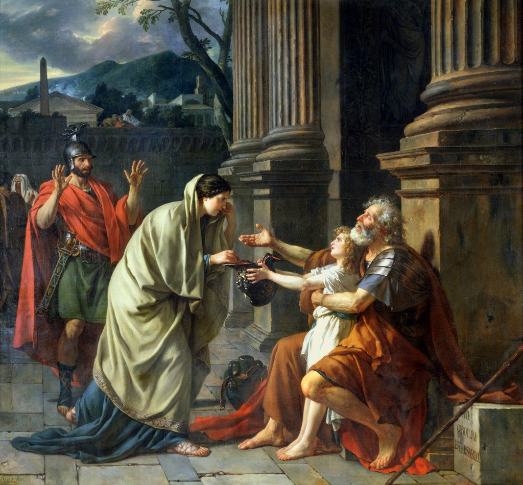 """Belisarius Begging For Alms,"" 1781"