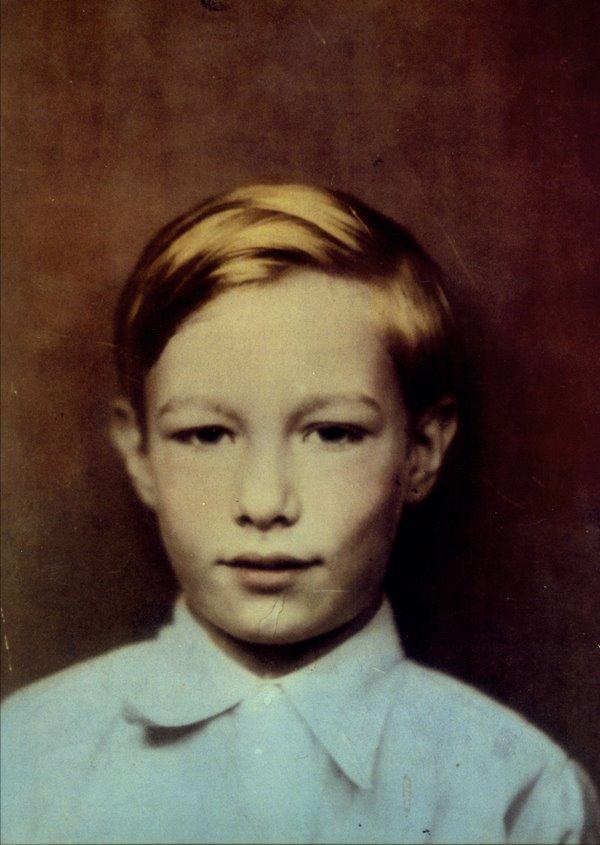 Andy Warhol, c. 1933, age