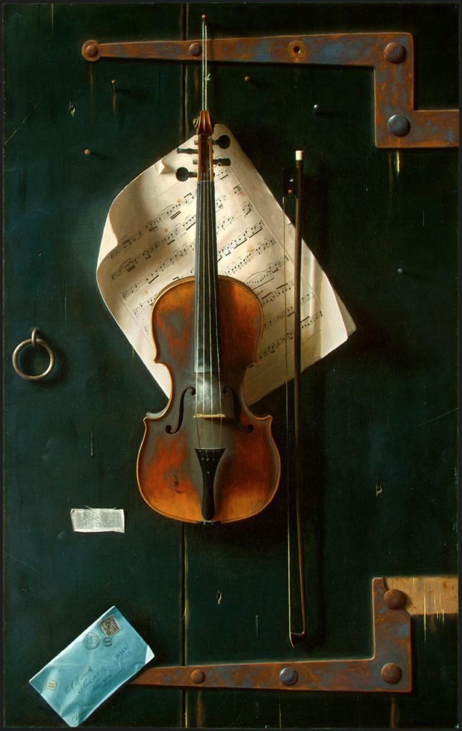 """The Old Violin,"" 1886"