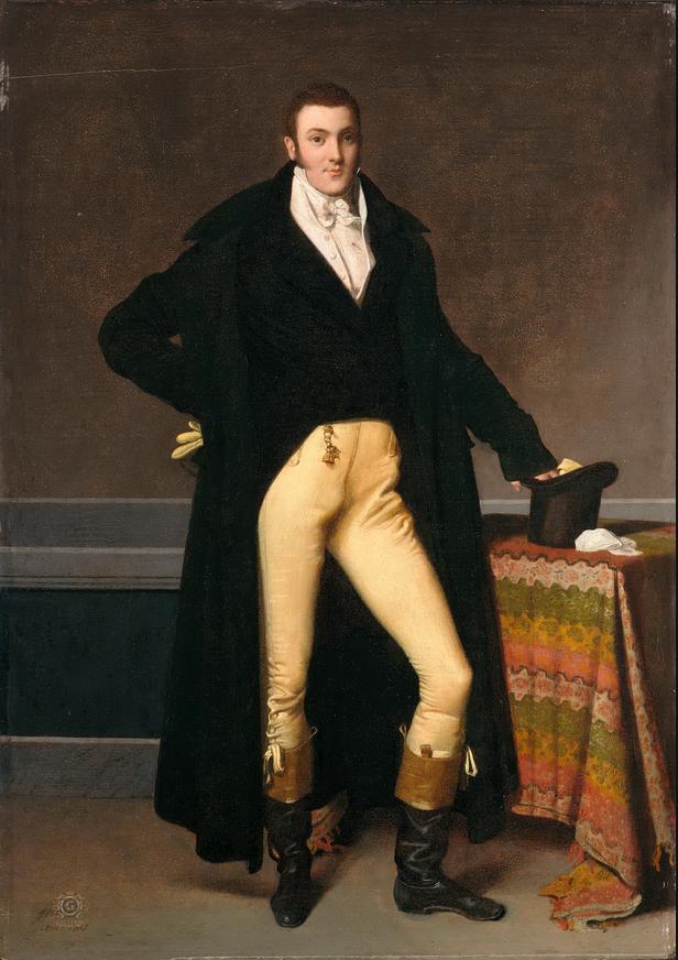 """""""Portrait of Joseph-Antoine de Nogent,"""" 1815"""