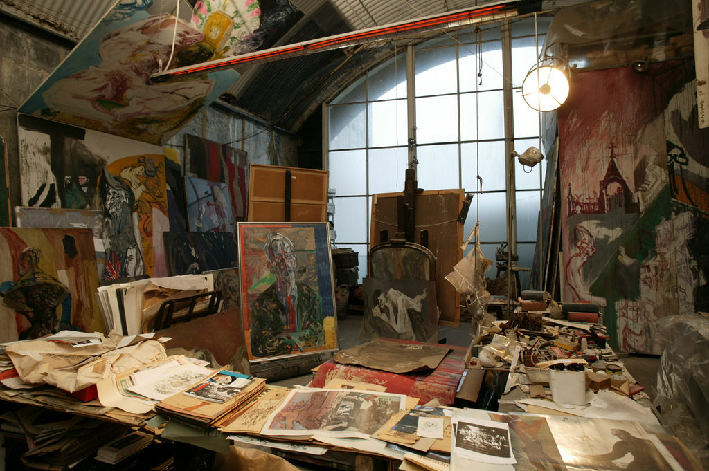 Topolski's studio