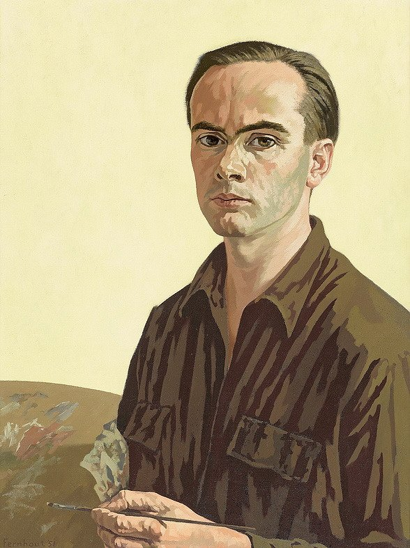 Self portrait, 1951
