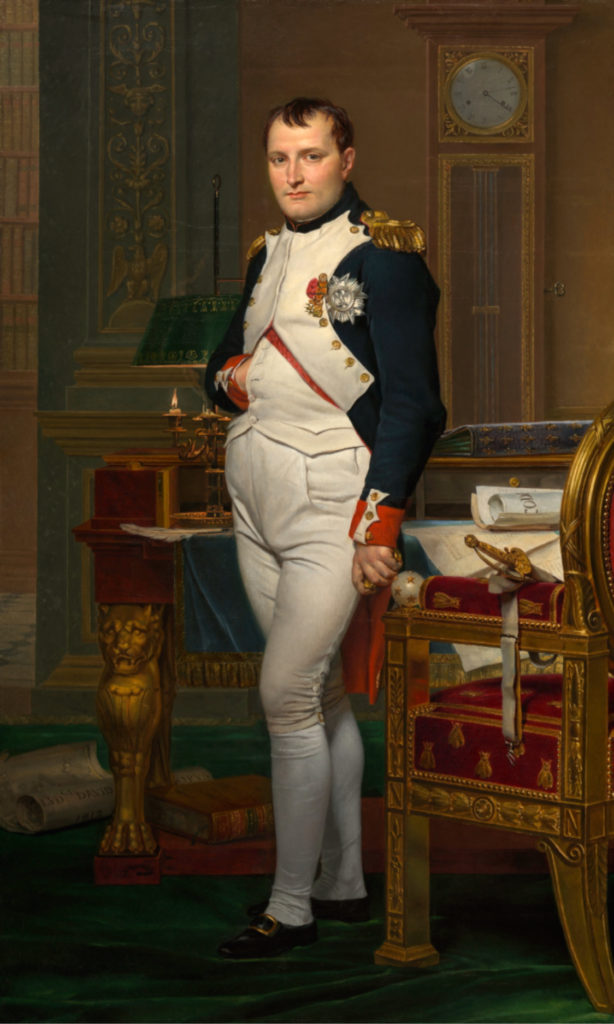 """Napoleon Bonaparte In His Study,"" 1812"