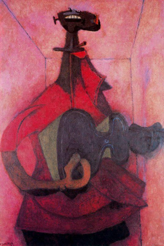 """Hombre Con Chitarra,"""" 1950"""