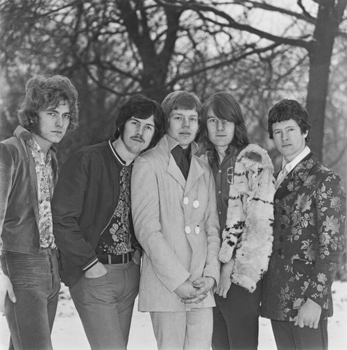 Band Of Joy, 1967 (Plant, far left)