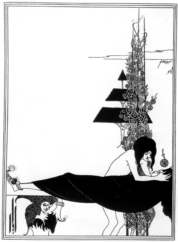 Aubrey Beardsley - A Platonic Lament from Salome