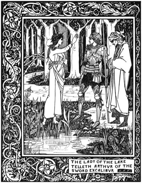 Aubrey Beardsley - Le Morte d_Arthur