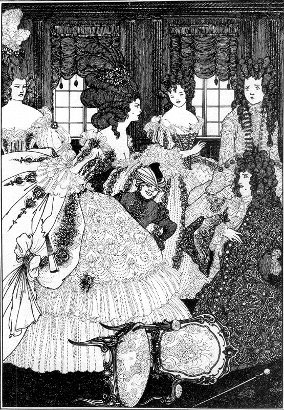 """Battle of the Beaux and the Belles,"" from ""The Rape Of The Lock,"" 18"