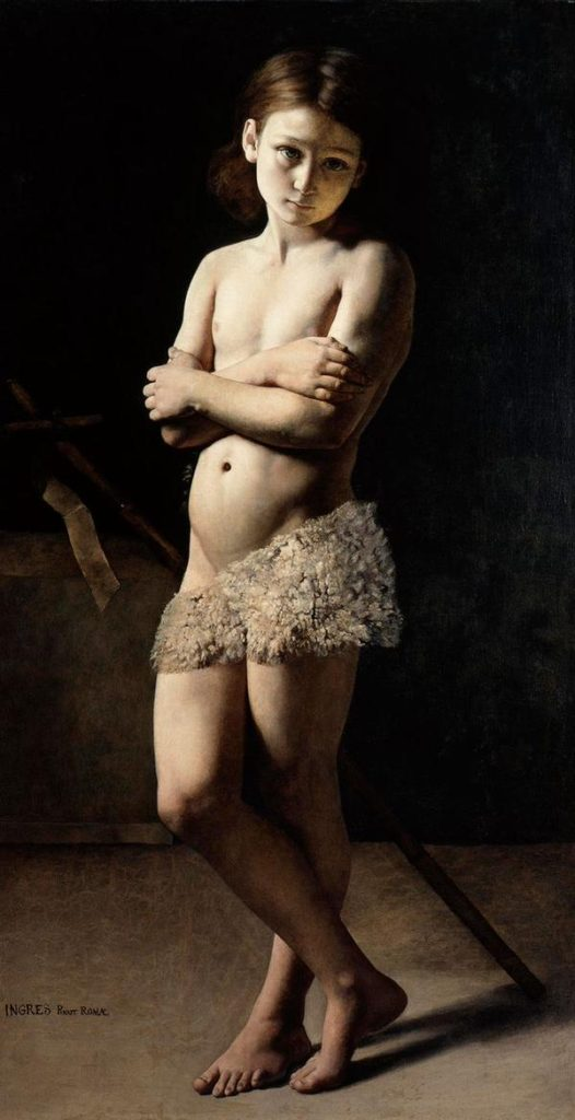 """Saint John the Baptist, As A Boy,"" 1855"