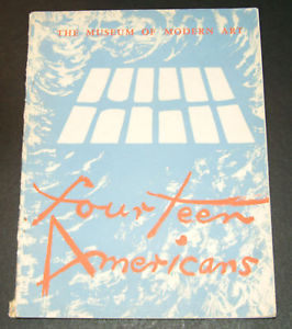 "Program for ""Fourteen Americans,"" 1946"