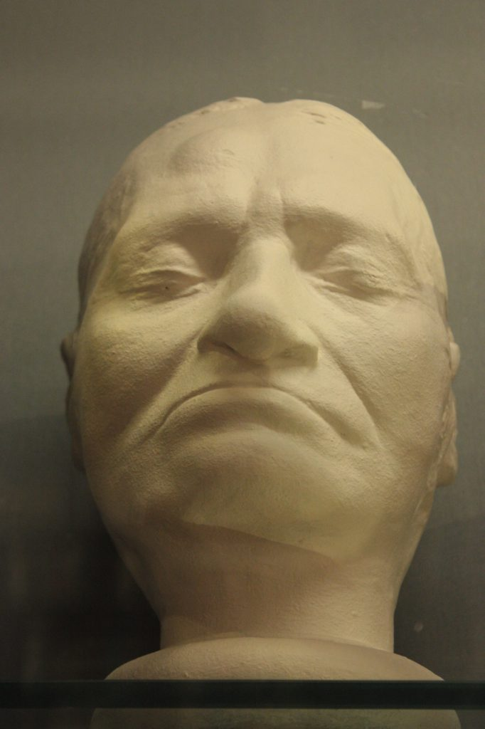 Death mask of Jacques-Louis David