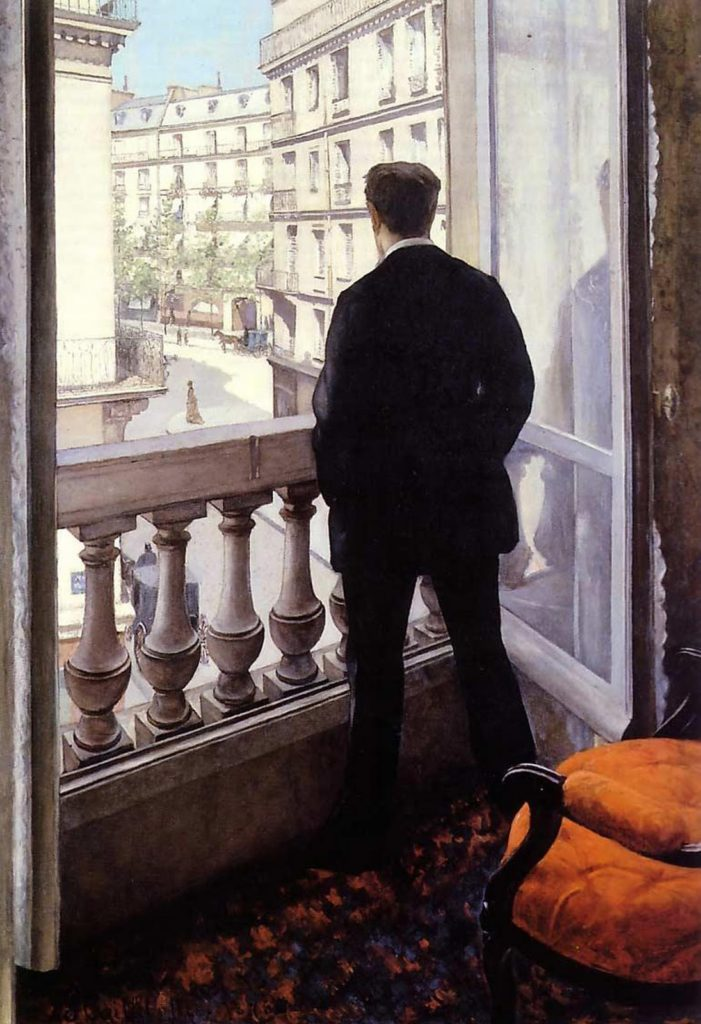 """Young Man At His Window,"""