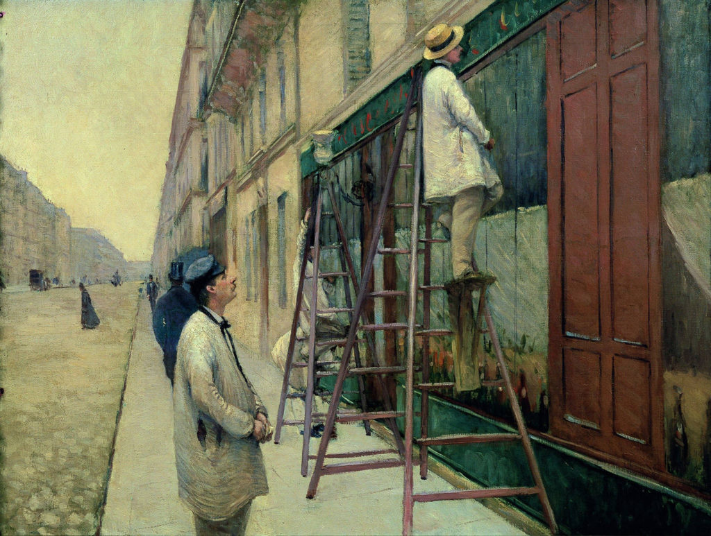 """""""The House Painters,"""" 1877"""