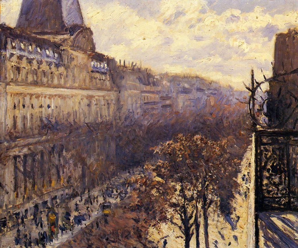 """Boulevard des Italiens,"" 1880"