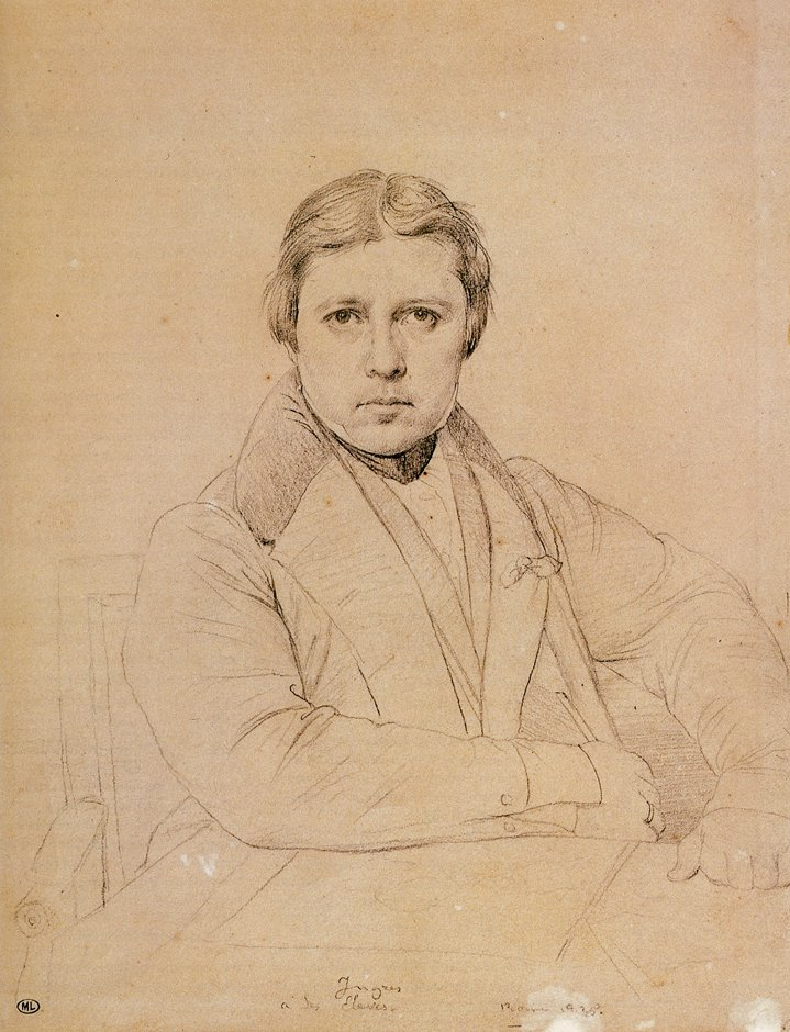 Ingres_self_portrait_age_55_drawing