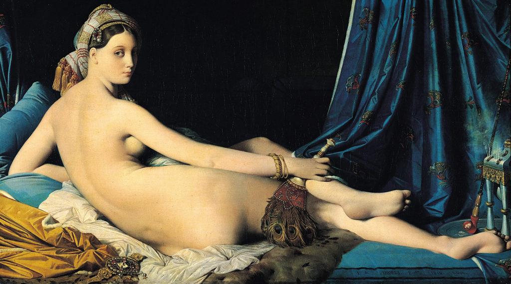 """La Grande Odalisque,"" 1814"