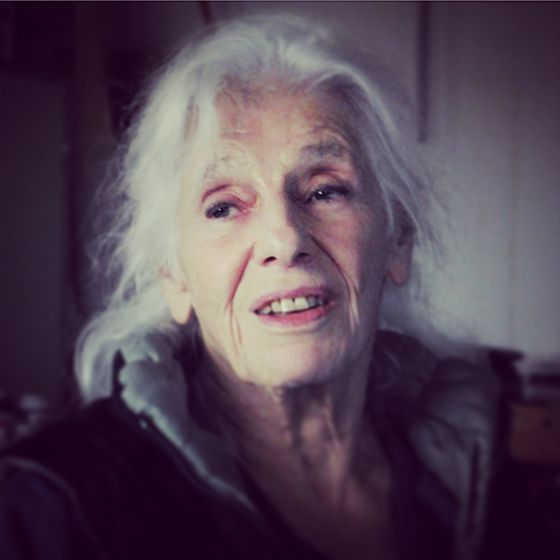 Portrait of Jo Baer, by Billie Savage