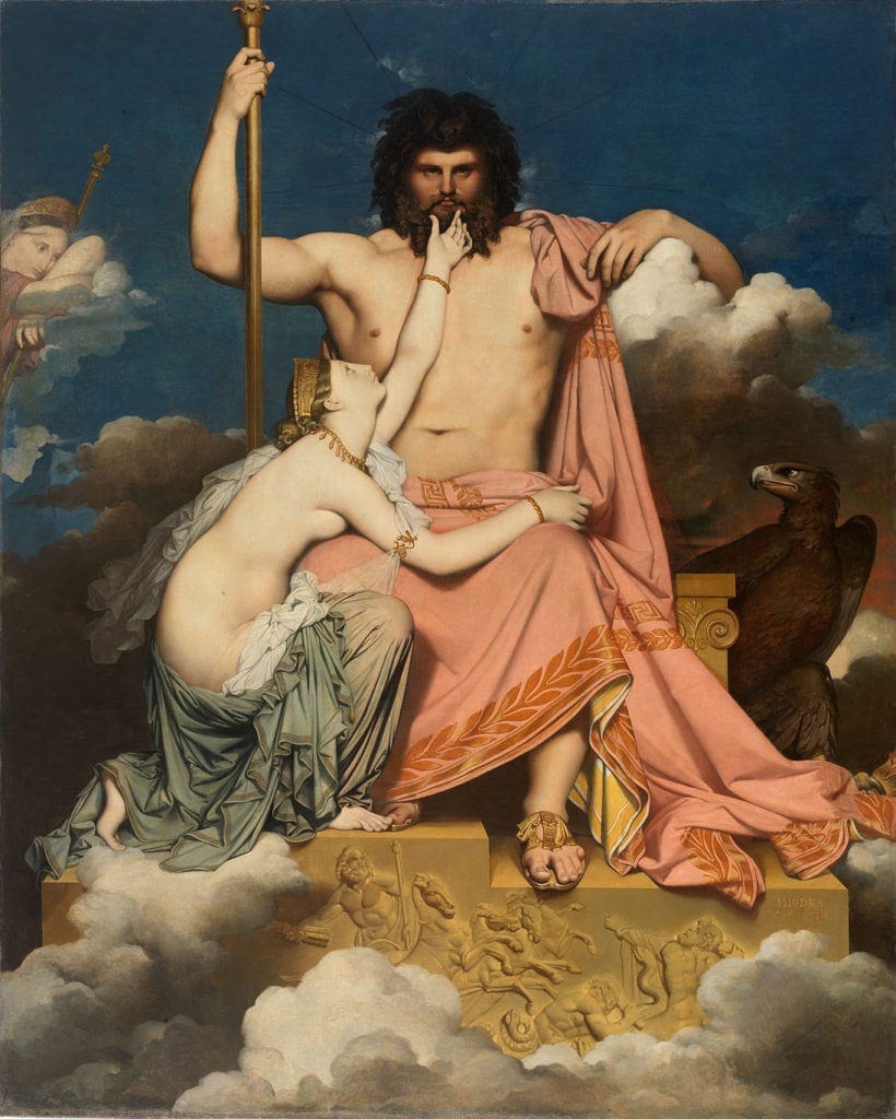 """Jupiter and Thetis,"" 1811"