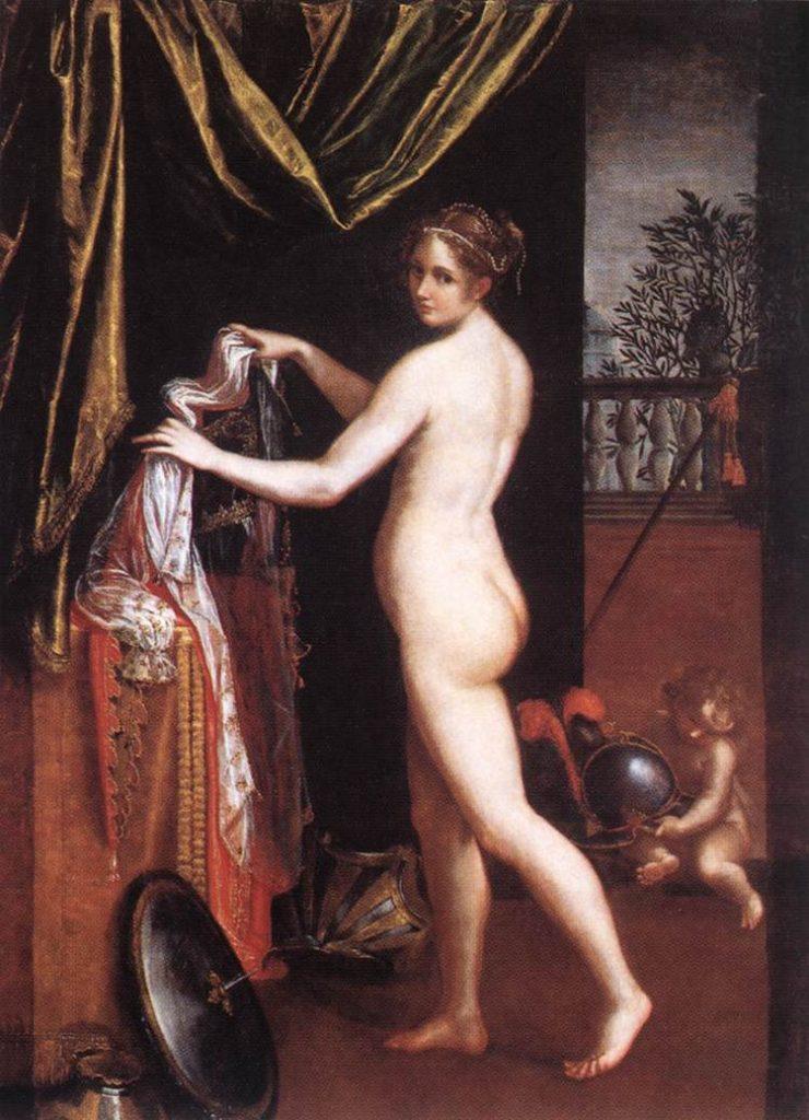 """Minerva Dressing,"" 1613"