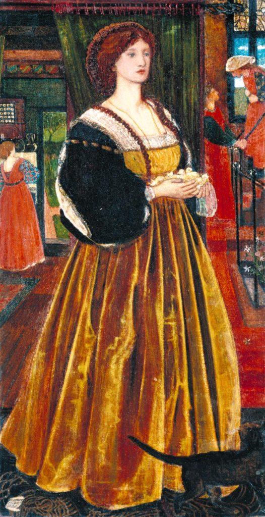 """""""Clara von Bork,"""" 1860"""
