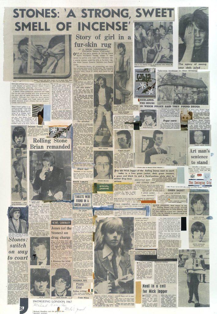 Swingeing London 67 - poster 1967-8 Richard Hamilton 1922-2011 Presented by Rita Donagh 1978 http://www.tate.org.uk/art/work/P01855