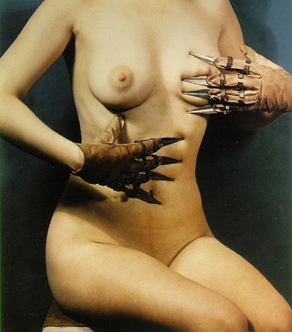 Paul Outerbridge - Woman with claws- ca. 1937