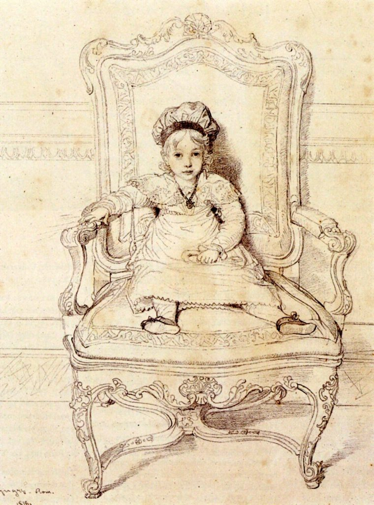 """Child In A Chair,"" 1818"