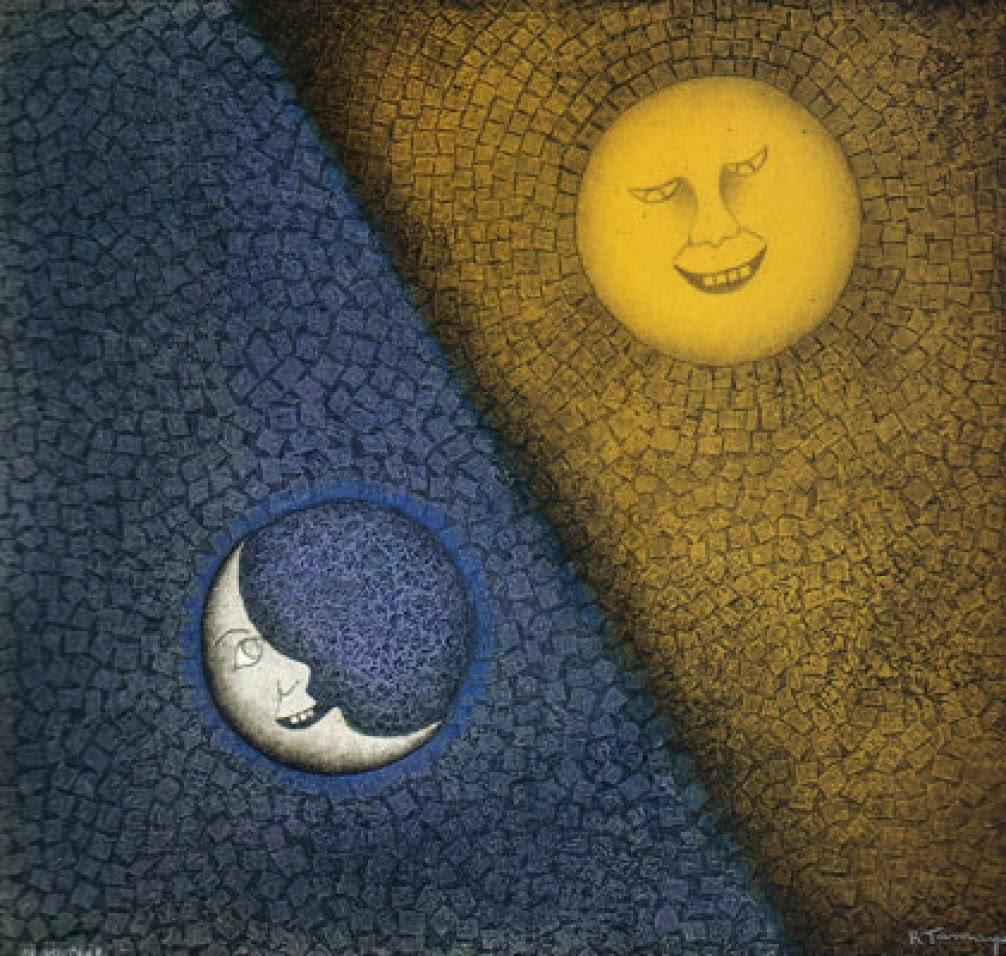"""""""Luna Y Sol,"""" 1990"""