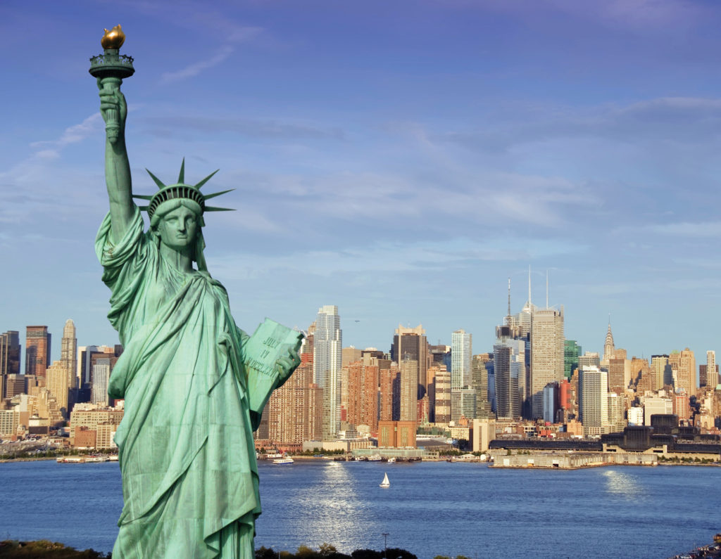 "The ""Statue of Liberty,"" originally named ""Liberty Enlightens The World"""