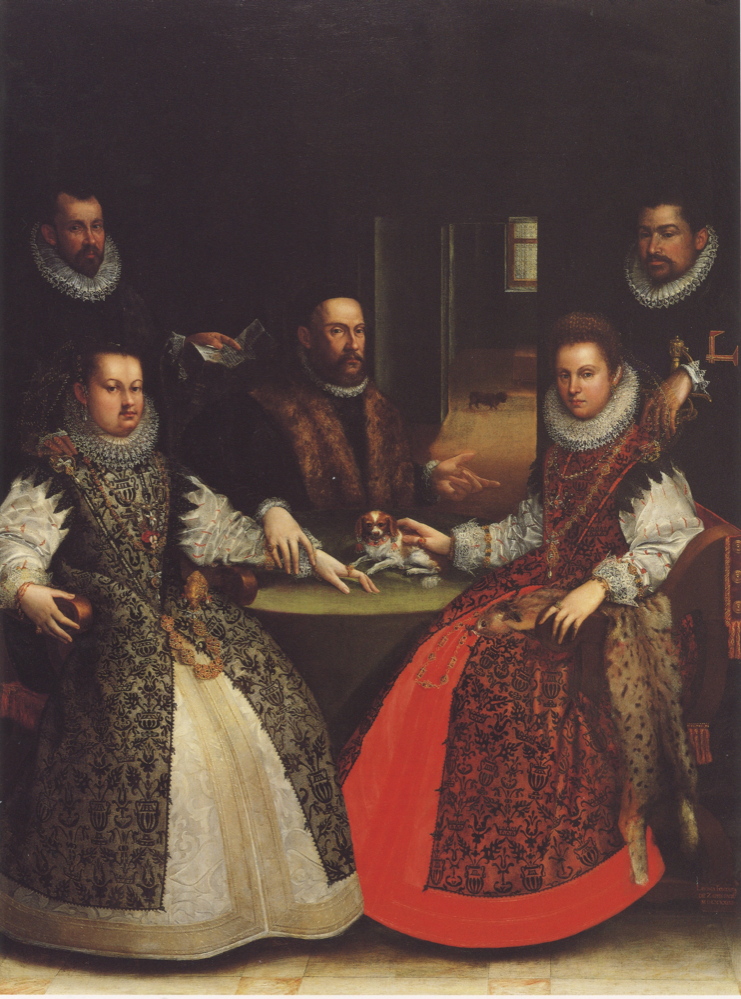 Portrait of the Gozzadini Family, 1584