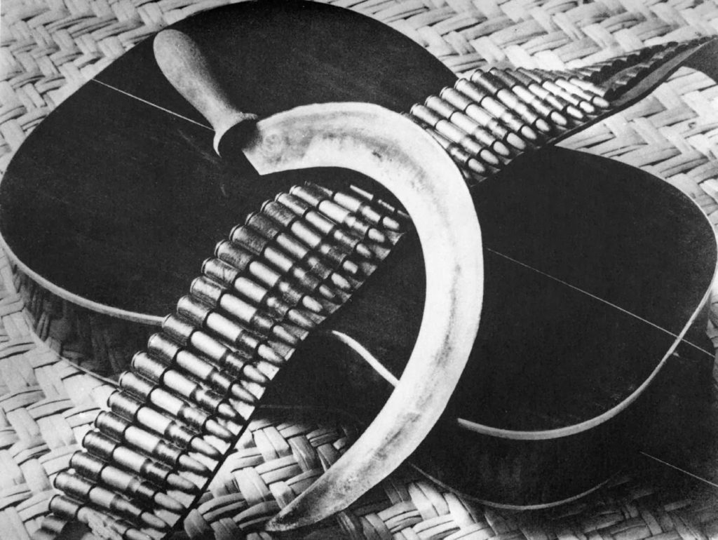 """Chitarra, Sickle, Cartridges,"" 1927"