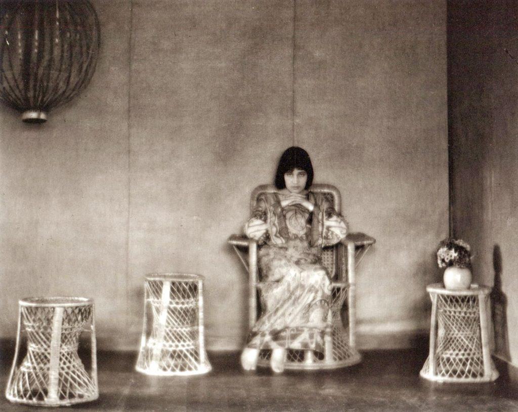 Tina Modotti, Glendale, California, 1922, by Edward Weston
