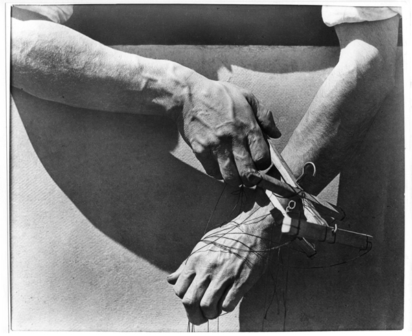 """Hands Of The Puppeteer,"" 1929"